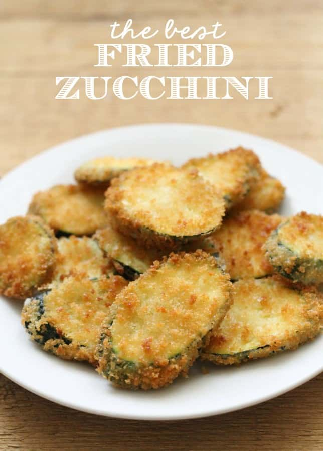 Fried Zucchini - Lil Luna