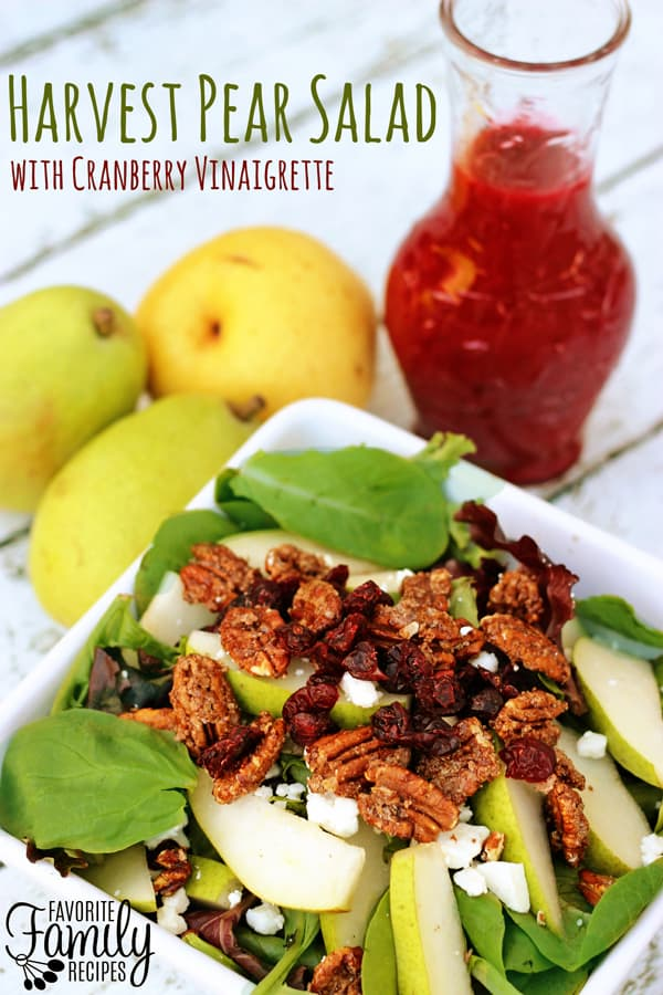 Harvest Pear Salad - Favorite Family Recipes