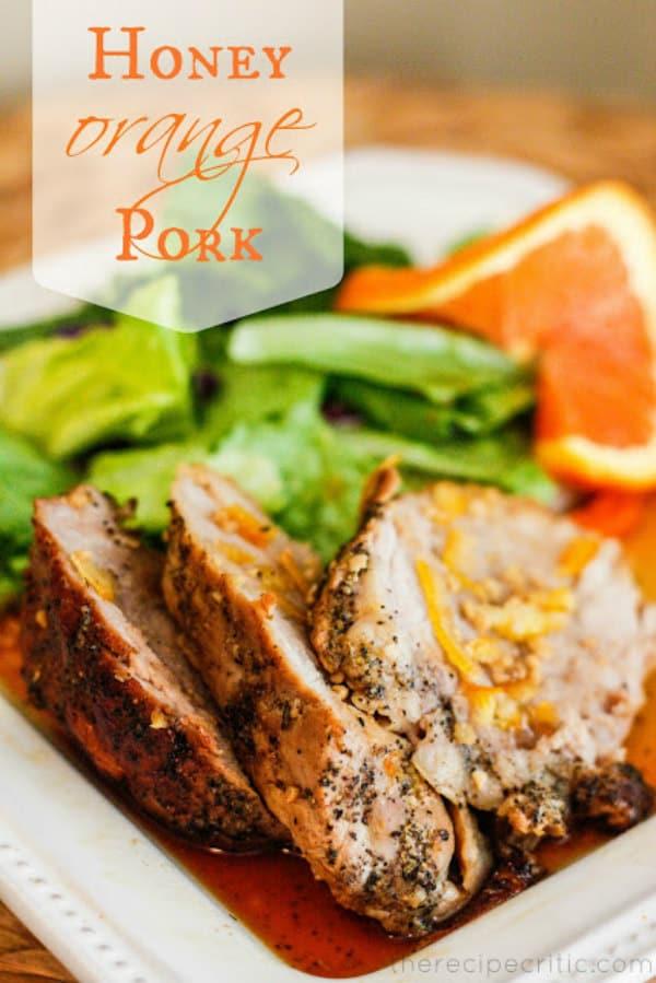 Honey Orange Pork - The Recipe Critic