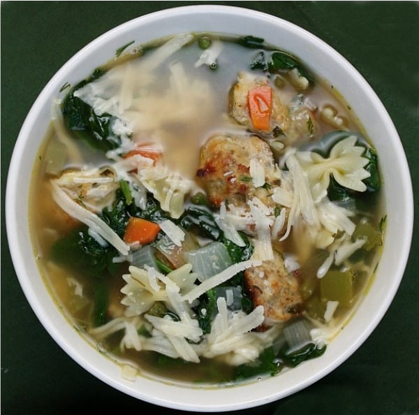 Italian Wedding Soup - Recipe Girl