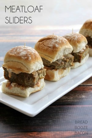 Meatloaf Sliders | Bread Booze Bacon