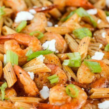 Mexican Shrimp Skillet Dinner