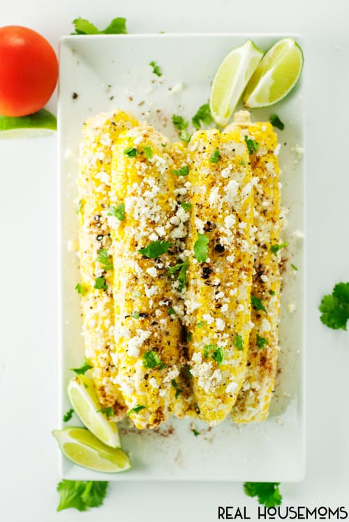 Take this year's sweet corn crop to the next level with this flavorful Mexican Street Corn!