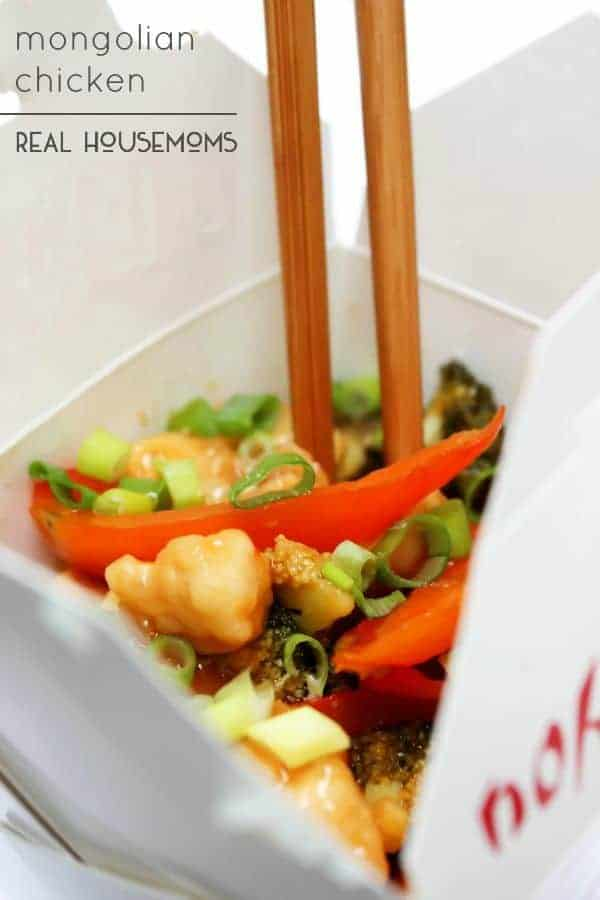 This Mongolian Chicken is better than your typical Chinese take-out. Pick up the chop sticks and get ready to dig in!