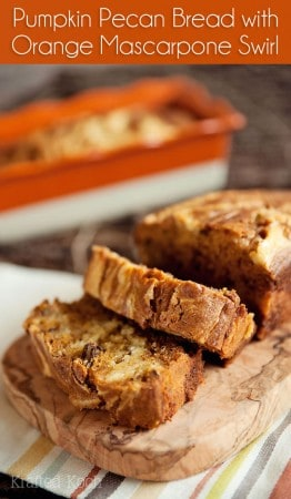 Pumpkin-Pecan-Bread-with-an-Orange-Marscapone-Swirl---Krafted-Koch