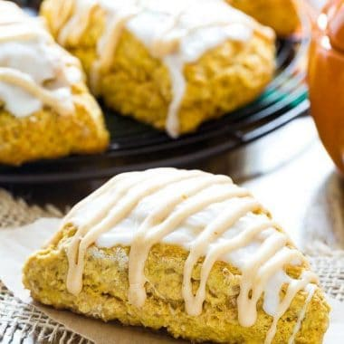 The wait is over - it's pumpkin season! Make your own Pumpkin Scones and skip the coffee shops.
