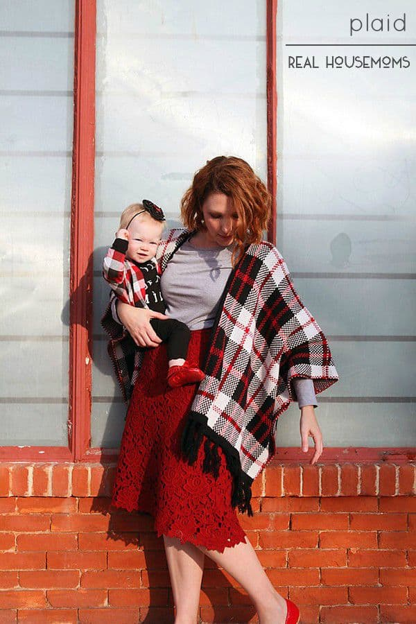 We're dreaming of fall fashion and cool weather, and what screams fall more than some touches of PLAID?