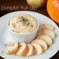 Pumpkin Fruit Dip | Self Proclaimed Foodie