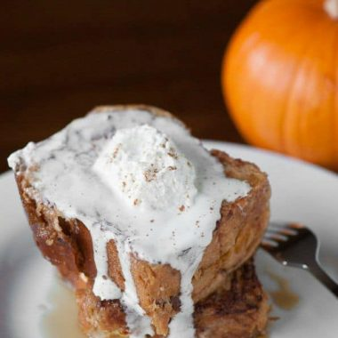 Stuffed Pumpkin French Toast