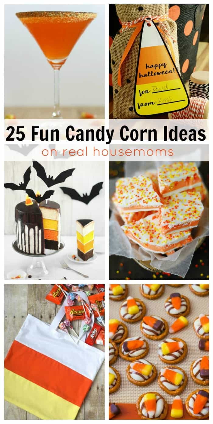 25 Fun And Easy Diy Pom Pom Crafts To Make: 25 Fun Candy Corn Ideas ⋆ Real Housemoms