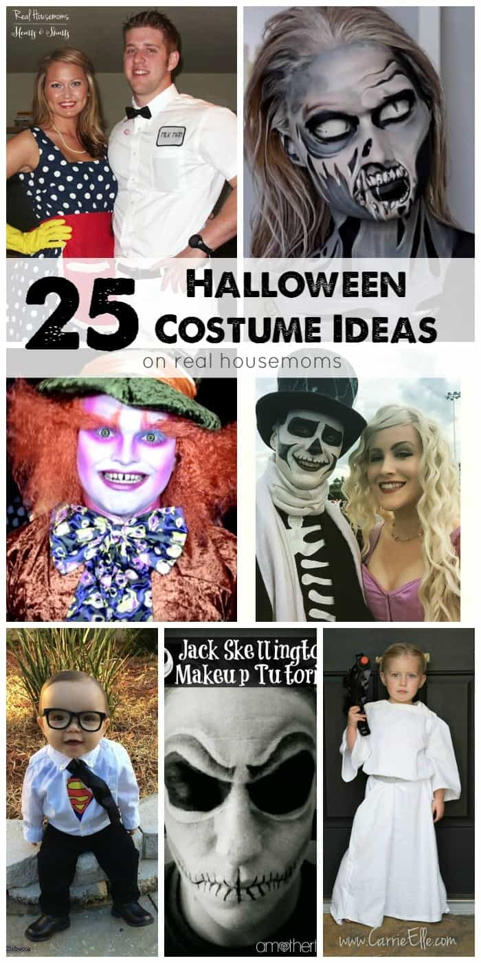 Looking for the perfect costume this year? We have 25 Halloween Costume Ideas that are sure to frighten up some fun!