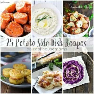 25 Potato Side Dish Recipes