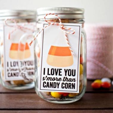 Candy Corn S'mores Gifts