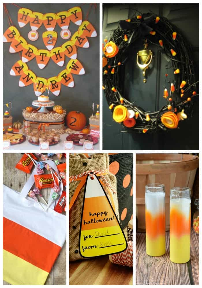 Get ready to celebrate Halloween with your favorite seasonal candy and these 25 Fun Candy Corn Ideas!