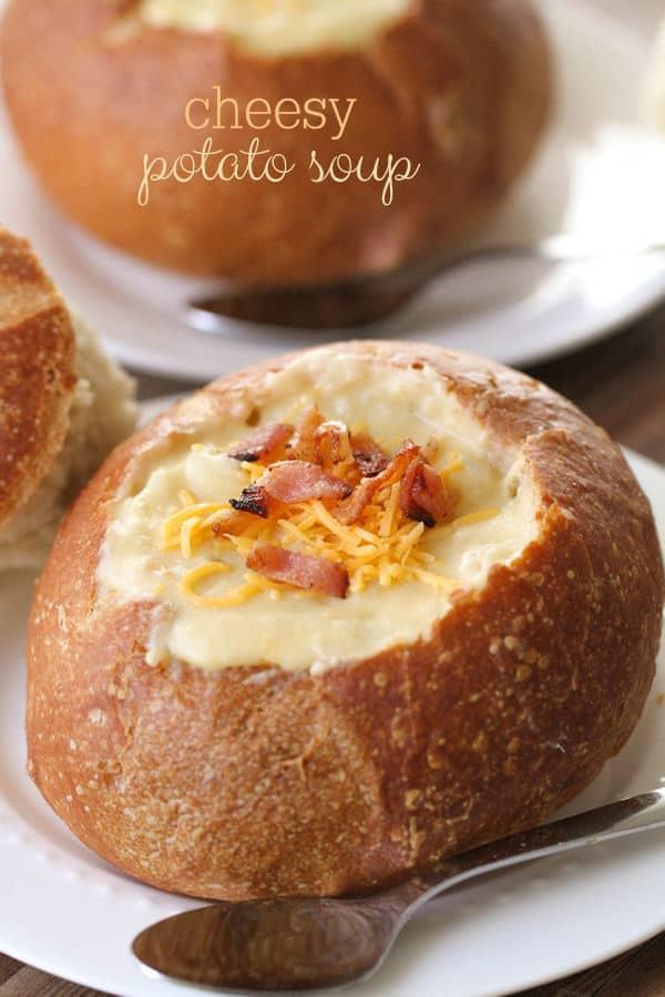 Cheesy Potato Soup - Lil' Luna