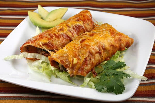 Easy Beef Enchiladas - Recipe Girl
