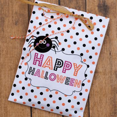 Printable Halloween Treat Bags