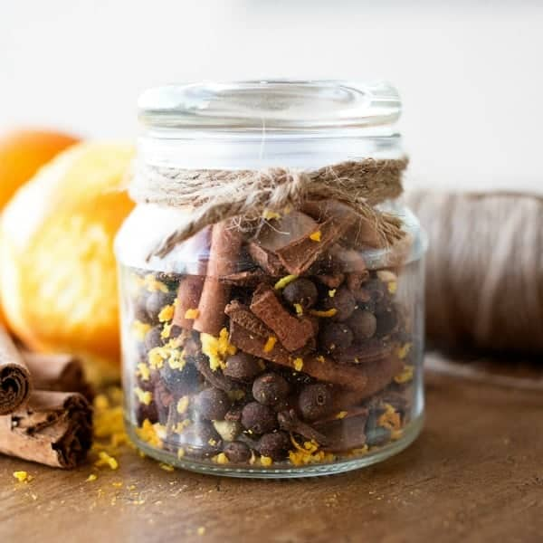 There's nothing I love more during the fall months than the sweet smells that the season has to offer. We love these HOMEMADE MULLING SPICES for an inexpensive option!