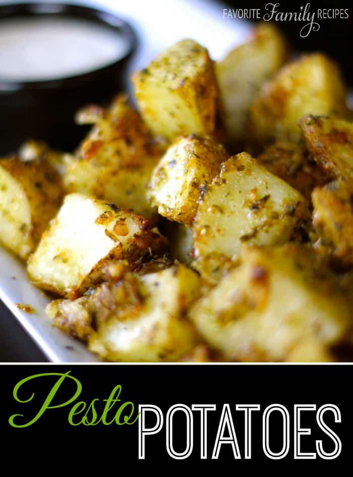 Pesto Potatoes - Favorite Family Recipes