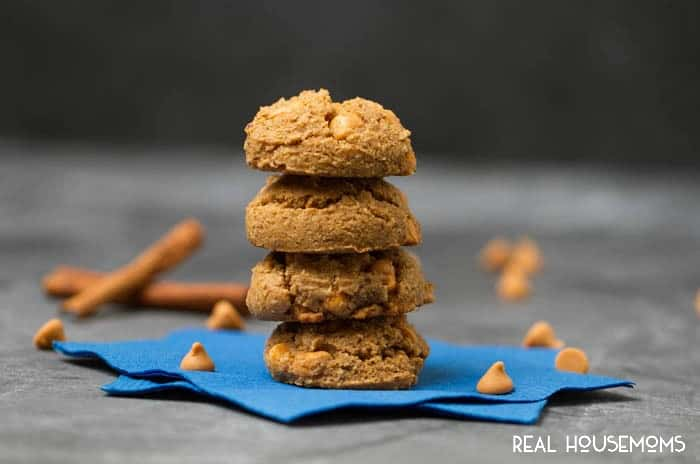 Pumpkin Butterscotch Cookies are ultra soft & chewy and loaded with plenty of pumpkin spice and butterscotch chips!