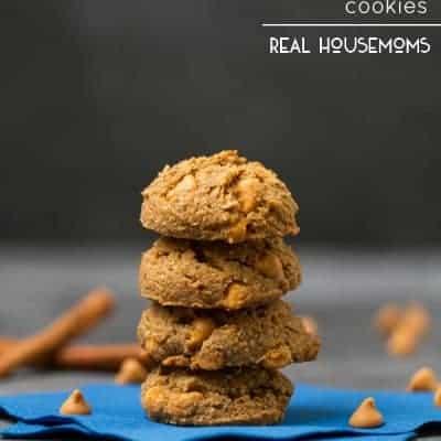 Pumpkin Butterscotch Cookies