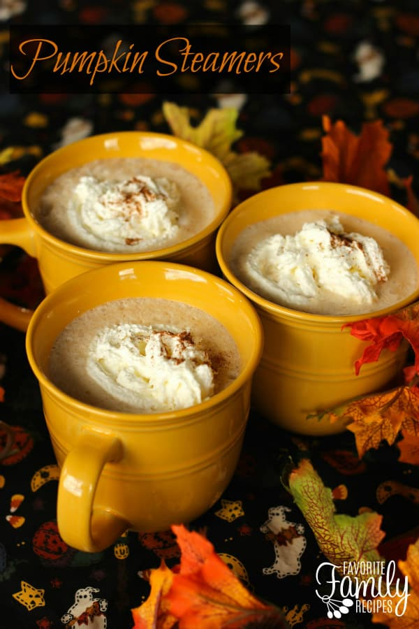 Pumpkin Steamers - Favorite Family Recipes