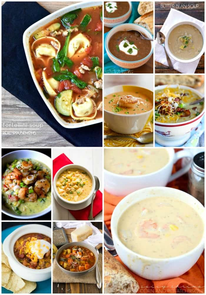 Stay warm this fall with delicious 50 Soup Recipes that'll warm you to the bone and keep you cozy on cool nights!