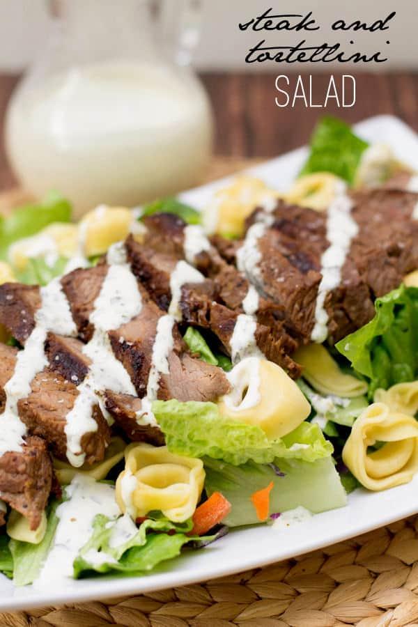 Steak and Tortellini Salad - Lil' Luna