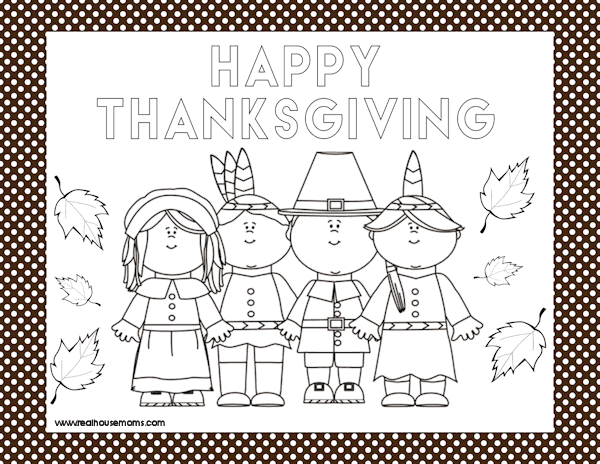 photograph about Printable Thanksgiving Placemat titled Printable Thanksgiving Placemats ⋆ Genuine Housemoms