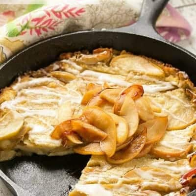Apple Cinnamon Puffed Pancake