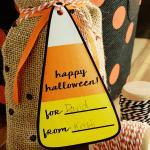Printable Candy Corn Gift Tags