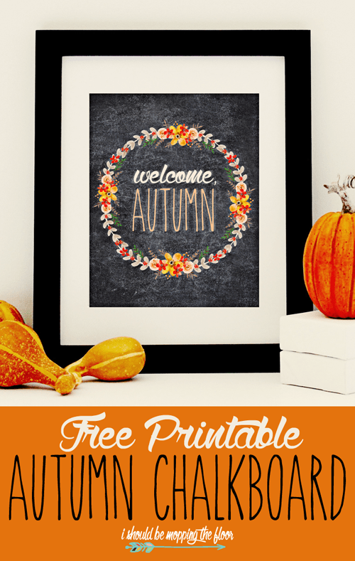 welcome autumn printable incontent