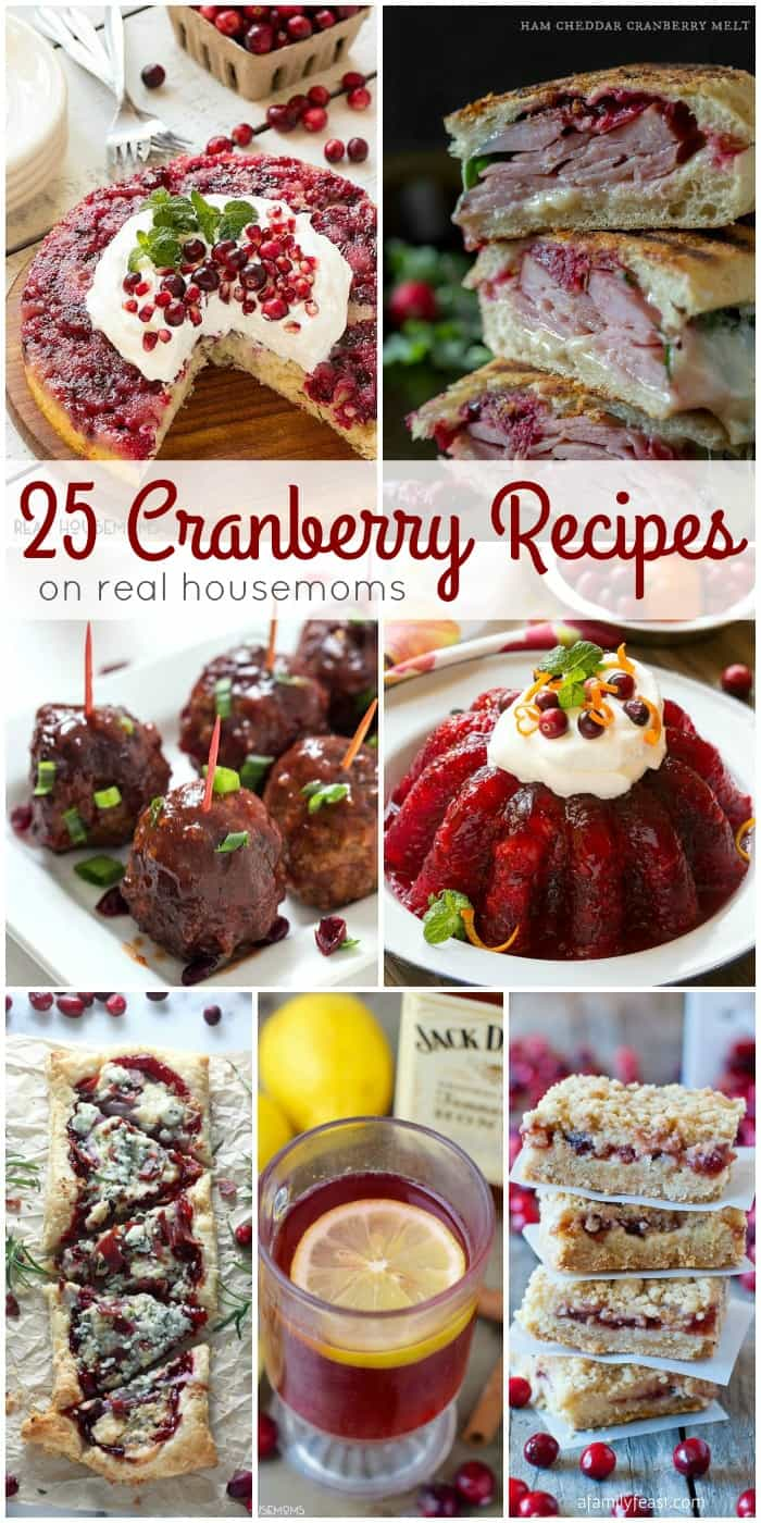 Turn those tart little berries into something totally crave-able with these 25 CRANBERRY RECIPES!