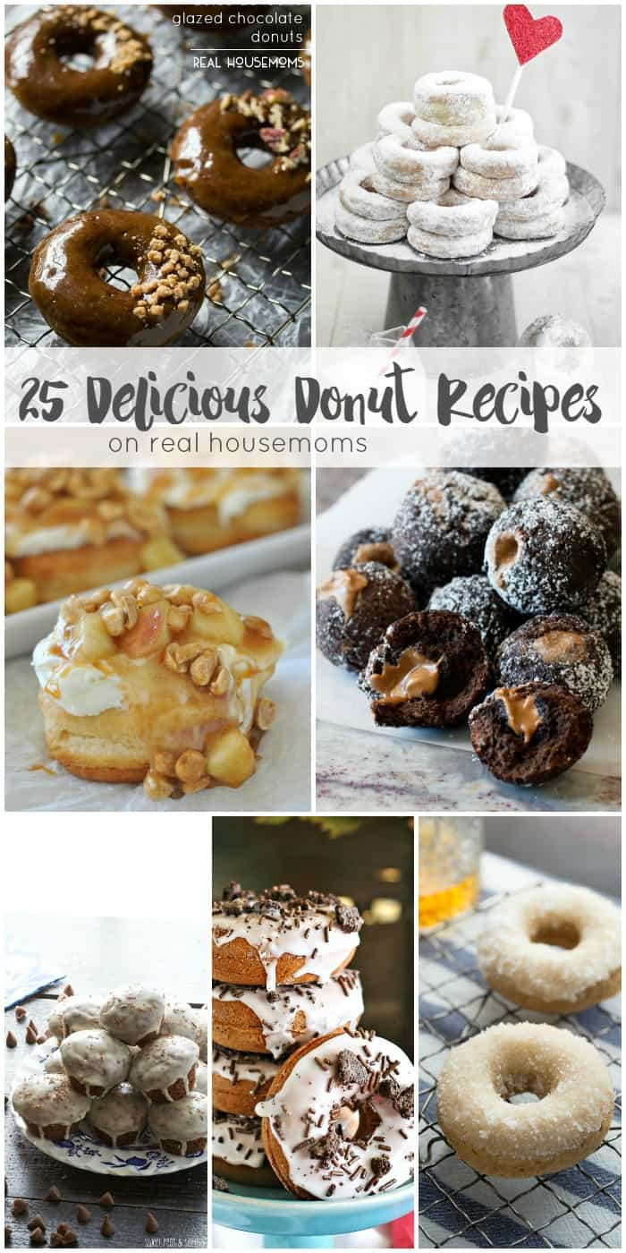 These 25 DELICIOUS DONUT RECIPES are the best way to start the day! There's something for everyone, from classics to fab flavor combos to delight your tastebuds!