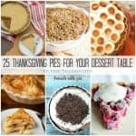 25 Thanksgiving Pies for your dessert table