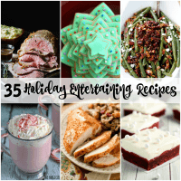 Get ready for company this holiday season with these easy 35 HOLIDAY ENTERTAINING RECIPES!