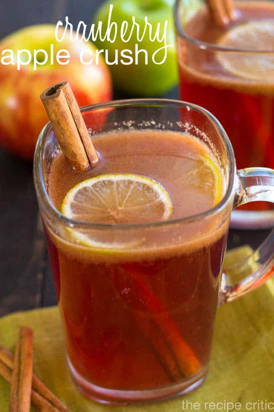 Cranberry Apple Crush - The Recipe Critic