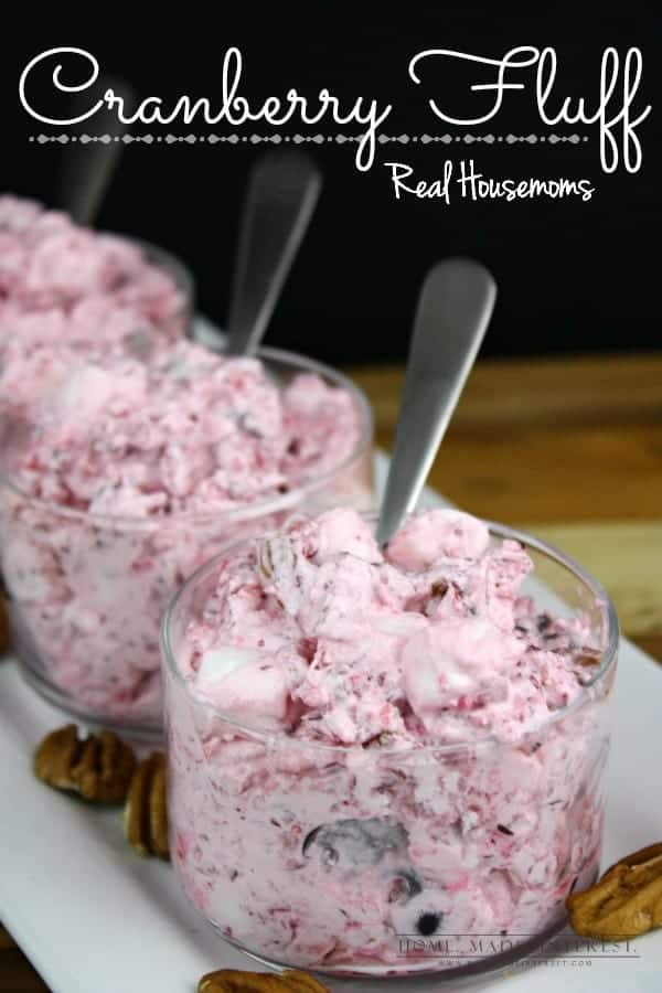 Cranberry Fluff - Real Housemoms