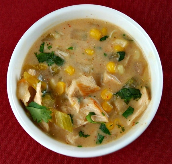 Creamy Mexican Turkey Soup - Recipe Girl