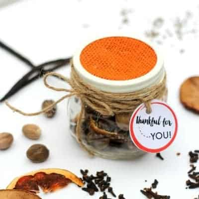 DIY Fall Potpourri Gift Idea