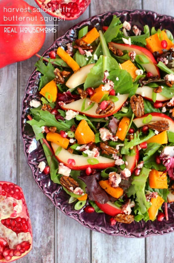 Harvest Salad with Butternut Squash - Real Housemoms
