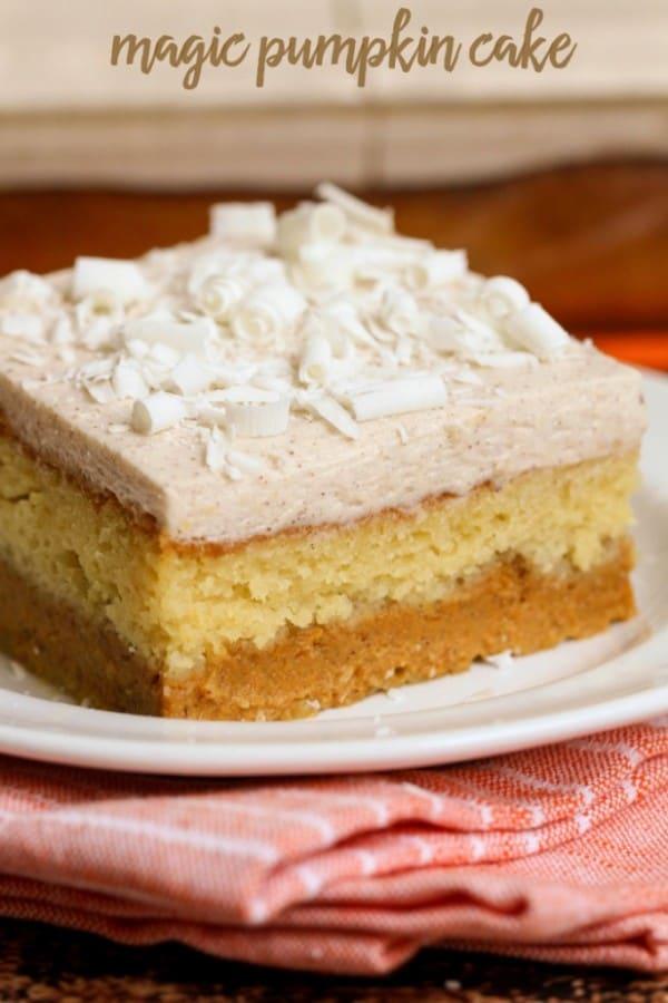 Magic Pumpkin Cake - Lil' Luna