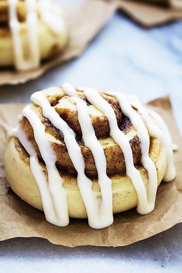 Mashed Potato Cinnamon Rolls - Creme de la Crumb