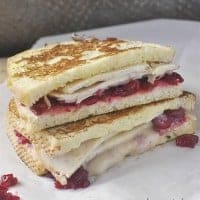 Grab those Thanksgiving leftovers and make this completely delicious MONTE CRISTO TURKEY SANDWICH!