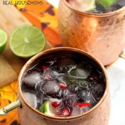 Pomegranate Cranberry Moscow Mule