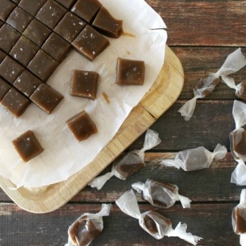 Salted Butter Rum Caramels SQUARE