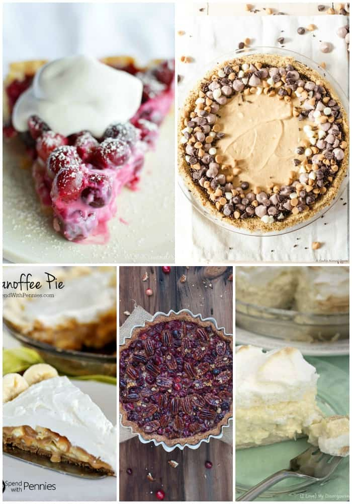 Get ready to set your holiday table with these 25 THANKSGIVING PIES FOR YOUR DESSERT TABLE! There's something for everyone, and you just might find a new favorite!