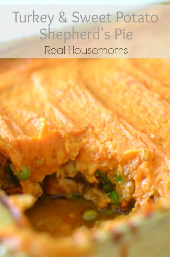 Turkey & Sweet Potato Shepherd's Pie - Real Housemoms