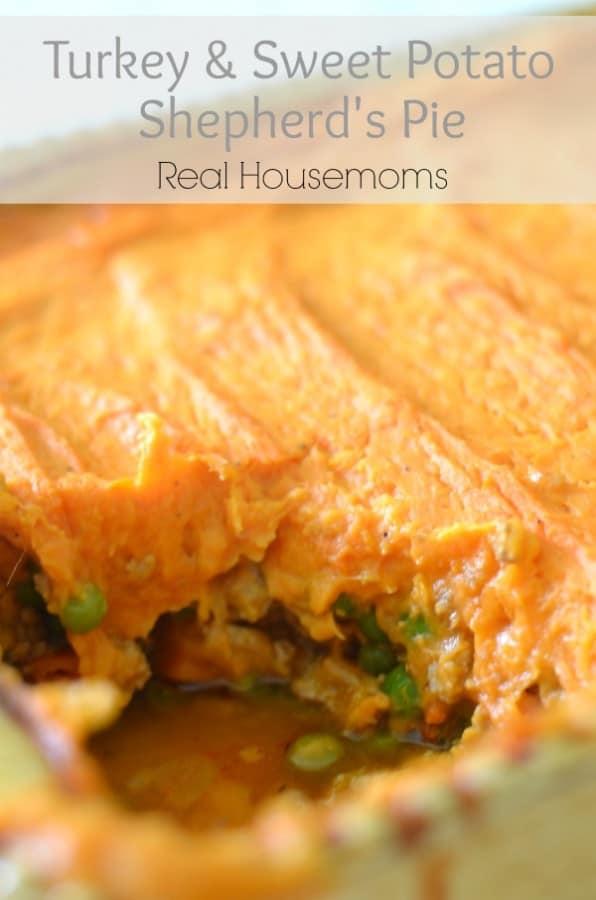 Turkey & Sweet Potato Shepherd's Pie - Real Housemoms