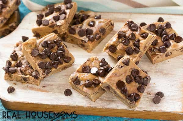 CHOCOLATE CHIP COOKIE DOUGH FUDGE is a sweet treat that's the perfect way to satisfy your cookie dough cravings!